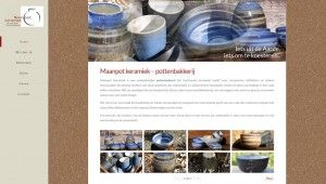 Site web maanpotkeramiek.be