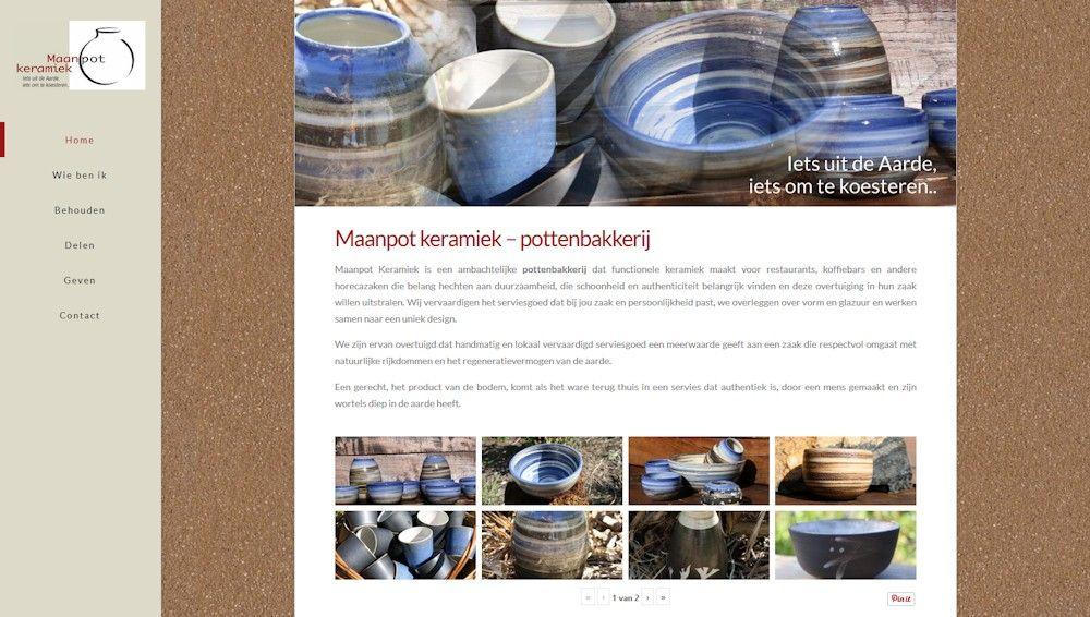 Website Maanpotkeramiek