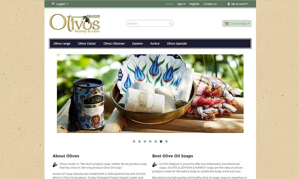 webshop olivosbelgium.be