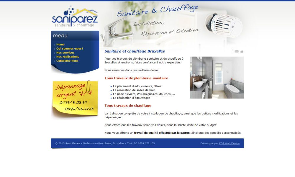 Website Saniparez